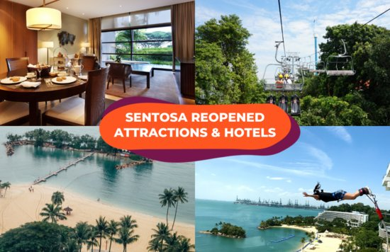 reopened sentosa hotels attractions phase 2
