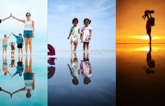 天空之镜 sky mirror sasaran beach kuala selangor