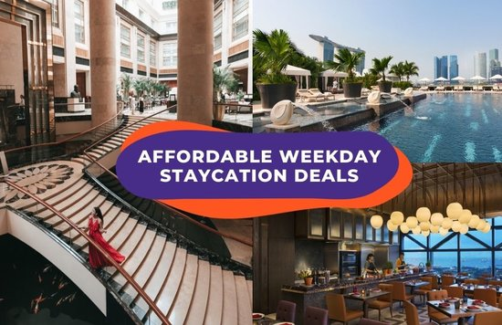 staycation singapore weekday deals cover image