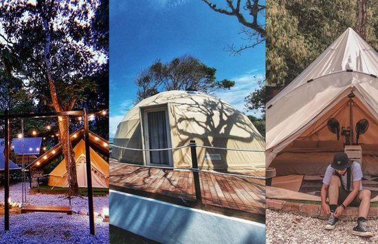 camping and glamping sites