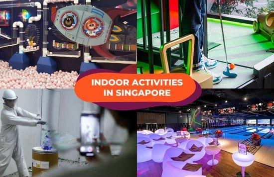 indoor activities singapore