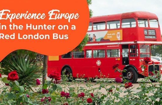 Hunter Valley Big Red London Bus