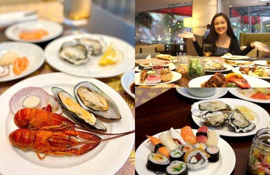 lemon garden seafood buffet dinner shangri-la hotel kl