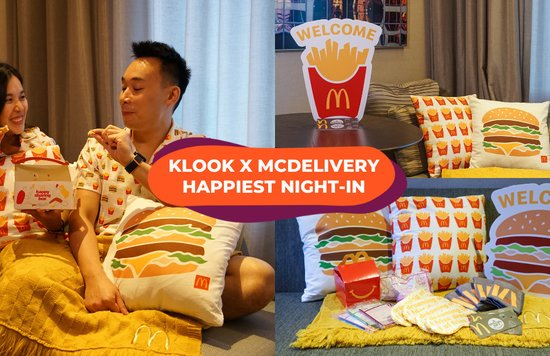 klook mcdelivery happiest night in cover
