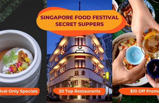 Klook Secret Suppers Singapore Food Festival 2021