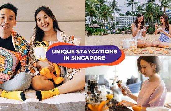 unique staycations singapore