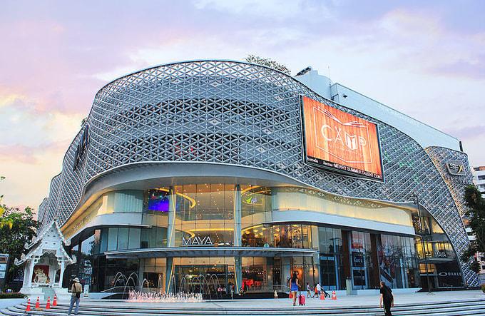 trung tâm mua sắm maya