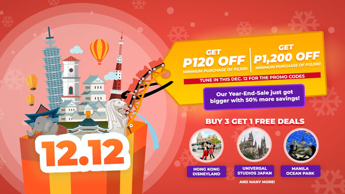 Klook 12 12 Sale Up To 50 More Travel Savings For One Day Only Klook Travel Blog