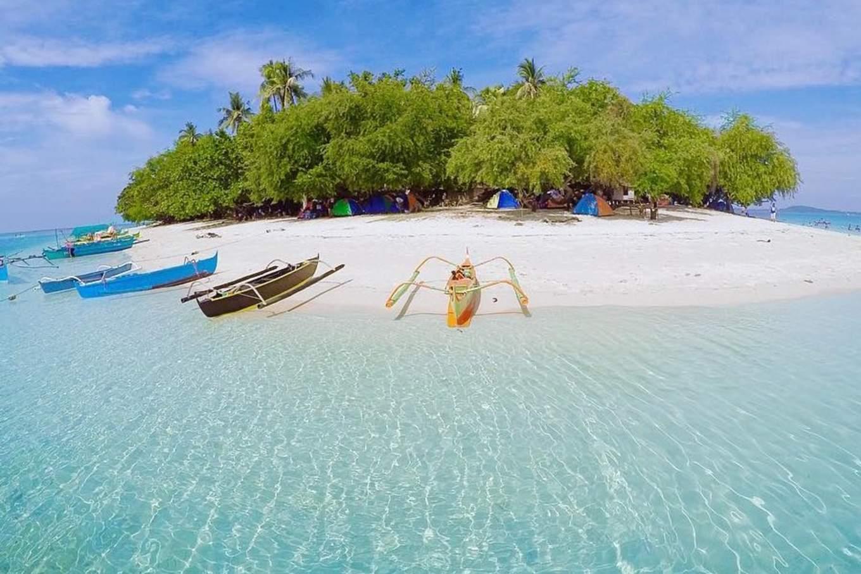 potipot island philippines beach