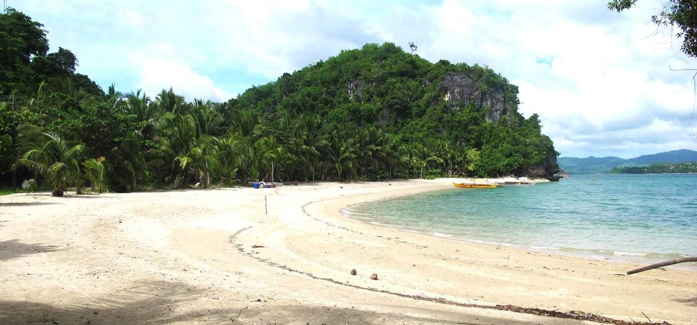 borawan quezon philippines beach