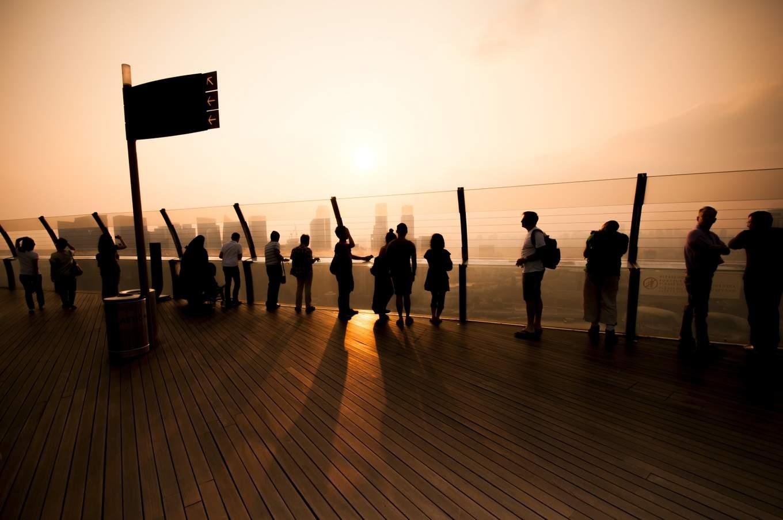 Singapore Marina Bay Sands Skypark Observation Deck