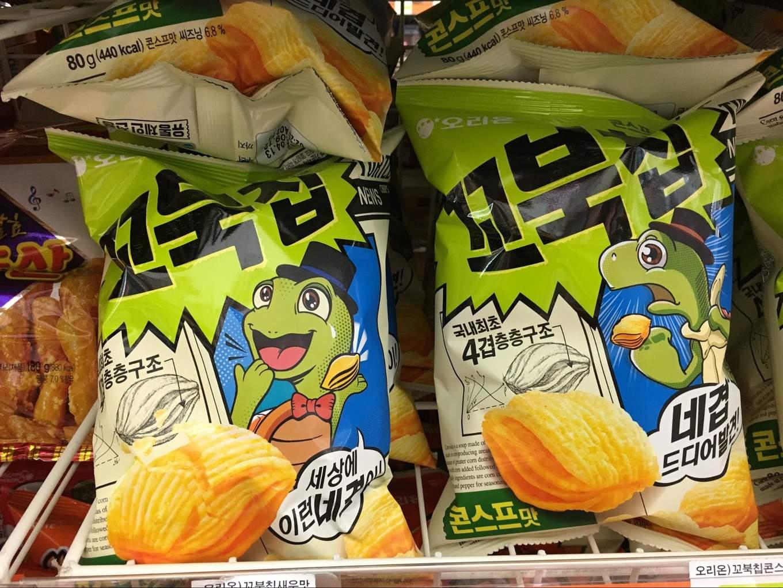 corn soup chips
