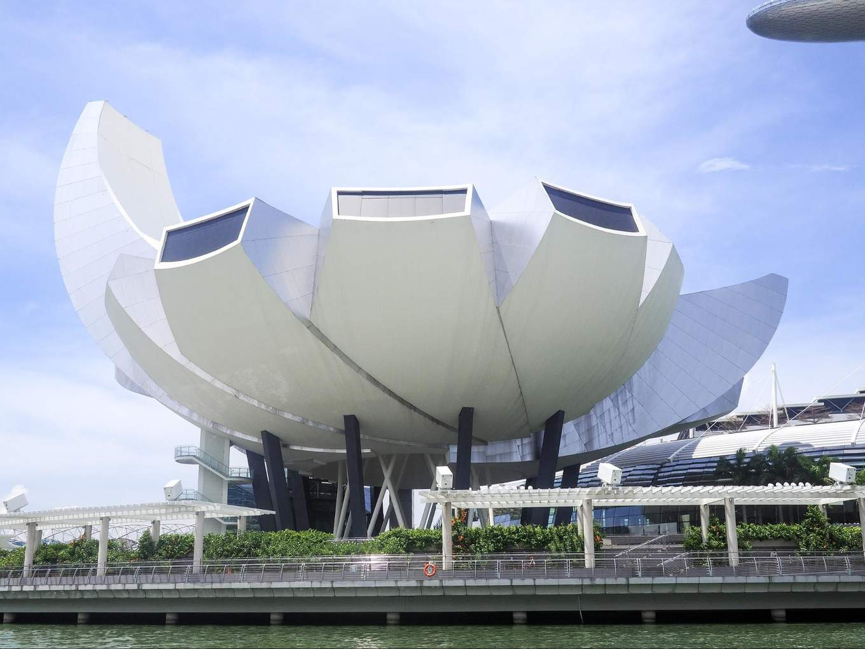 Singapore Marina Bay Art Science Museum