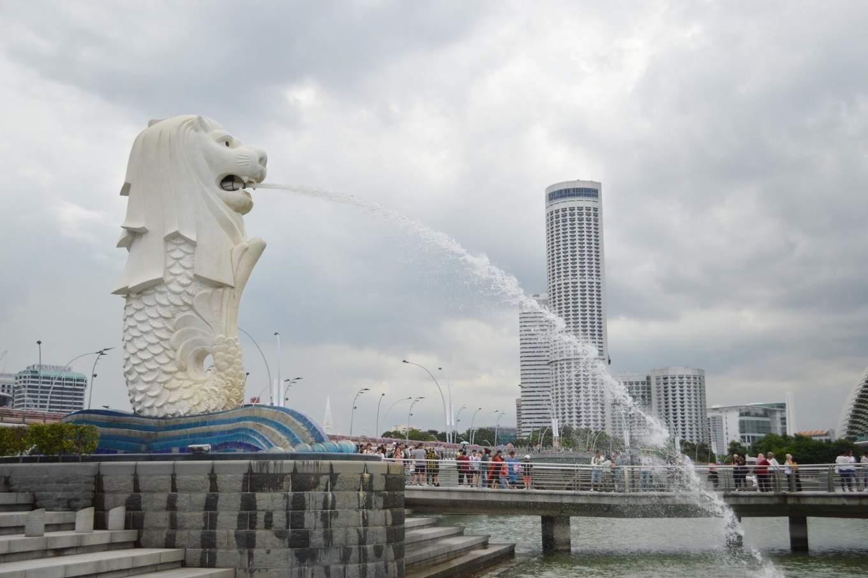 Singapore Marina Bay Merlion