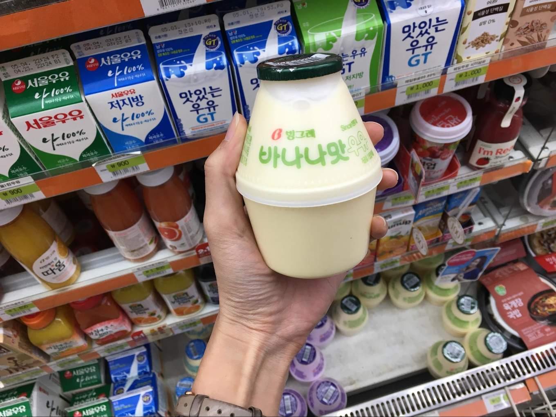 korea banana milk