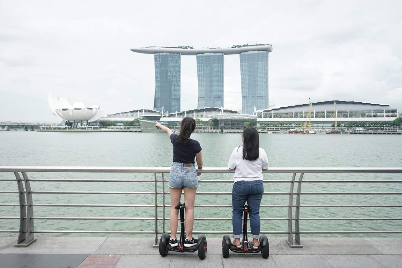 Singapore Marina Bay Sands Segway