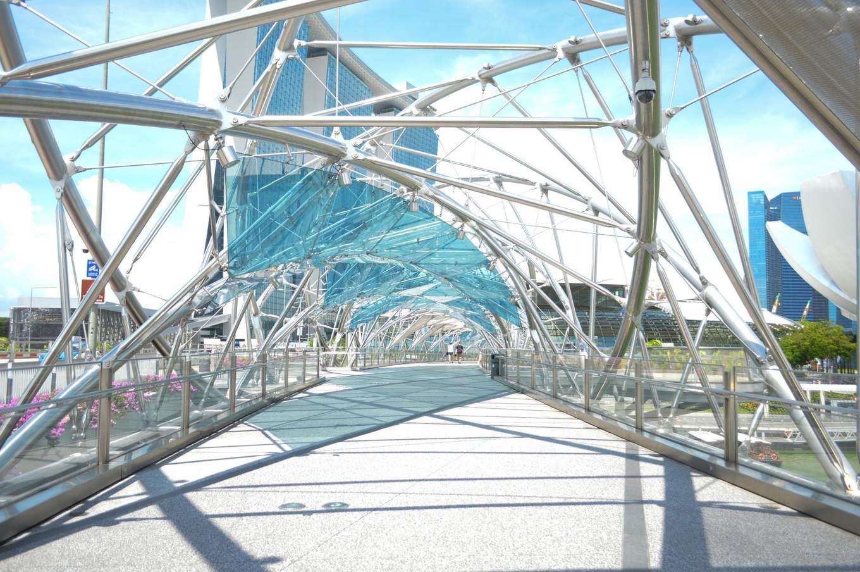 Singapore Marina Bay Helix Bridge