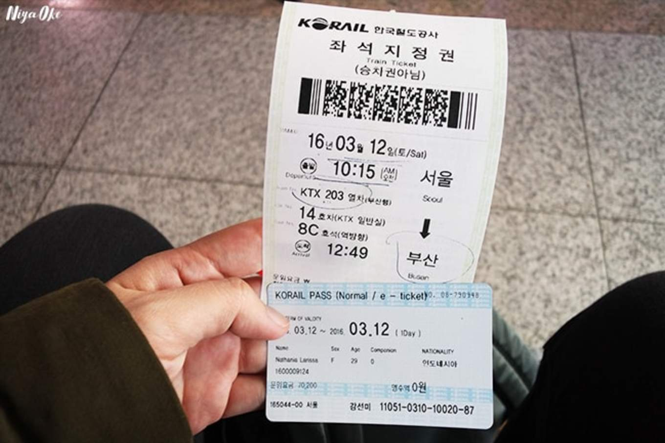 Korail Pass Ticket Klook Korea