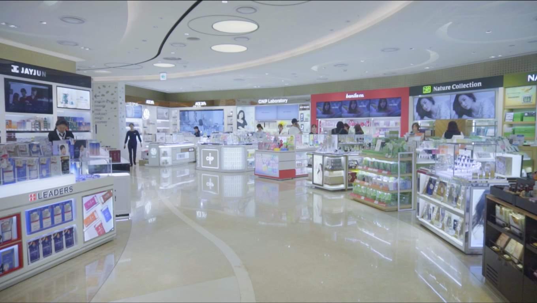 Lotte Duty Free store