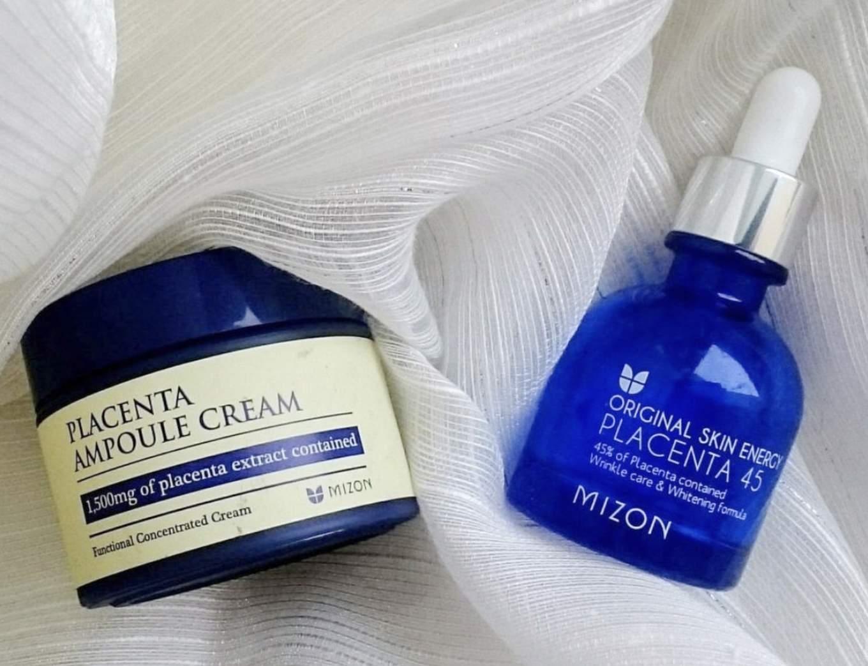 Korean Beauty Products Mizon Original Skin Energy Placenta 45