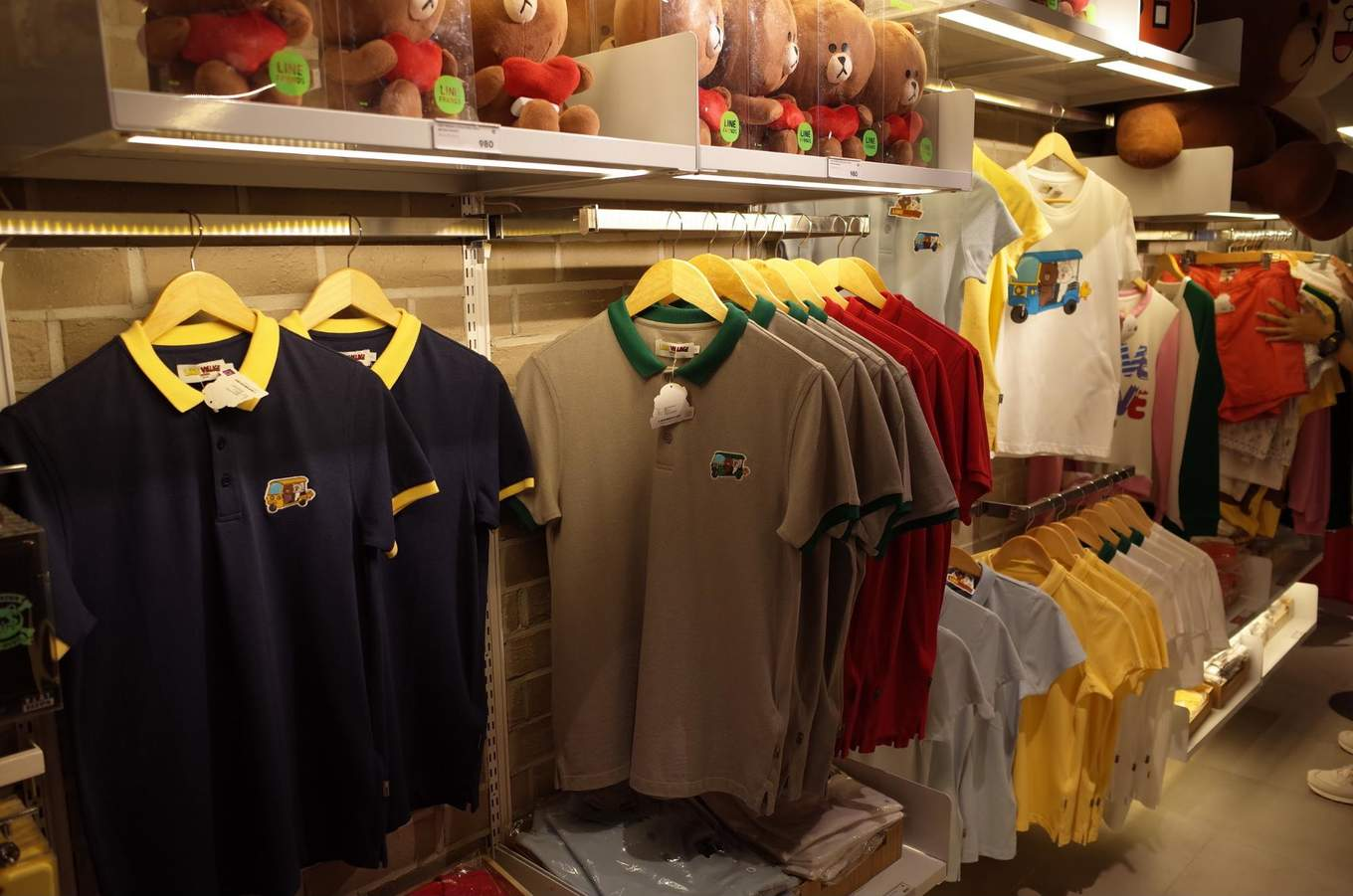 LINE apparel at the LINE Store in Bangkok
