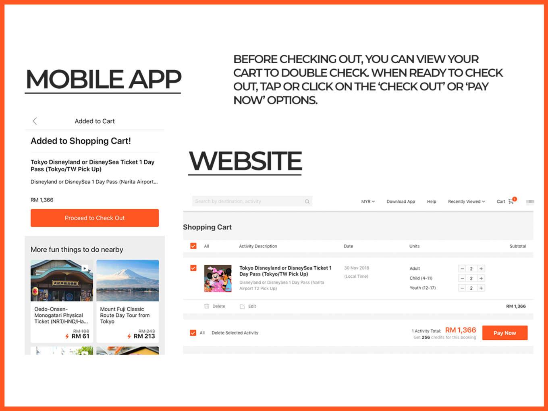 How to Book on Klook Website & App