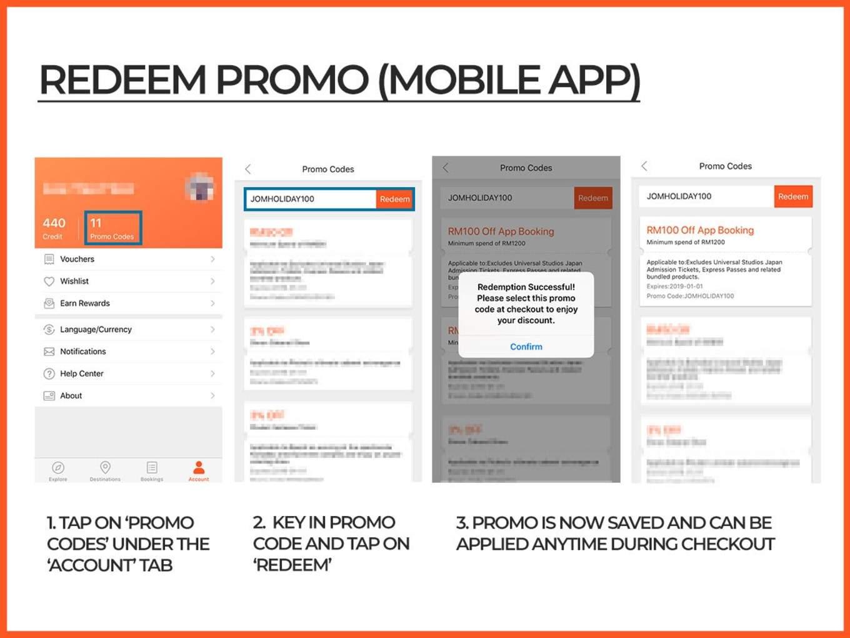 Redeem Klook Promo Code