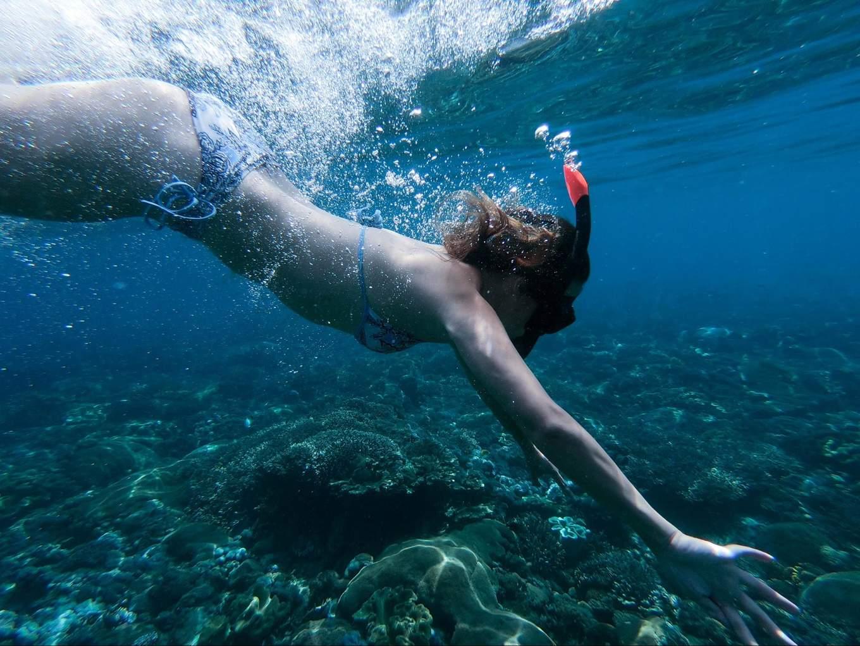 crystal bay snorkeling nusa penida bali