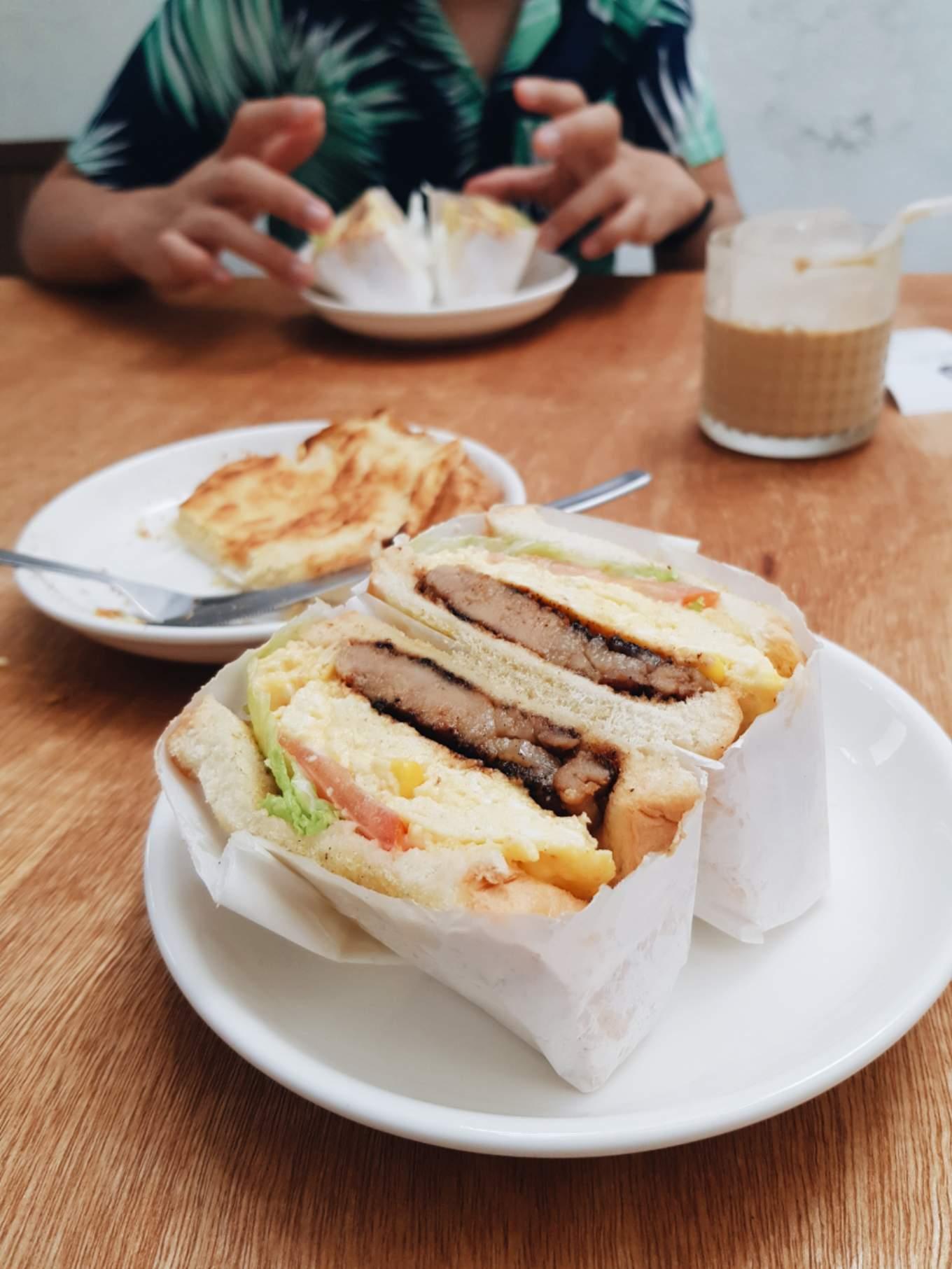 Le Cafe Siam Po Sandwich