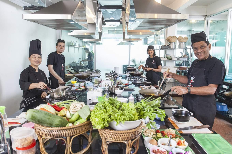 Bangkok Thai Cooking Academy classes