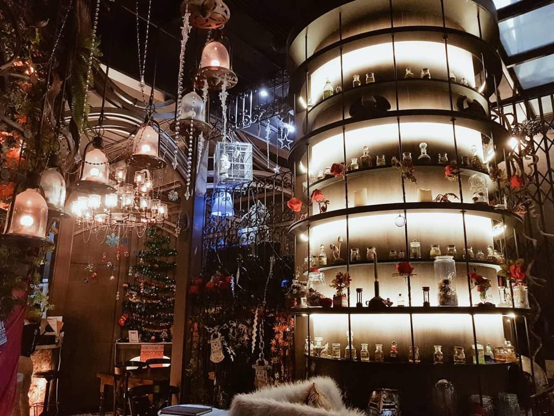 Mocking Tales Cafe interior