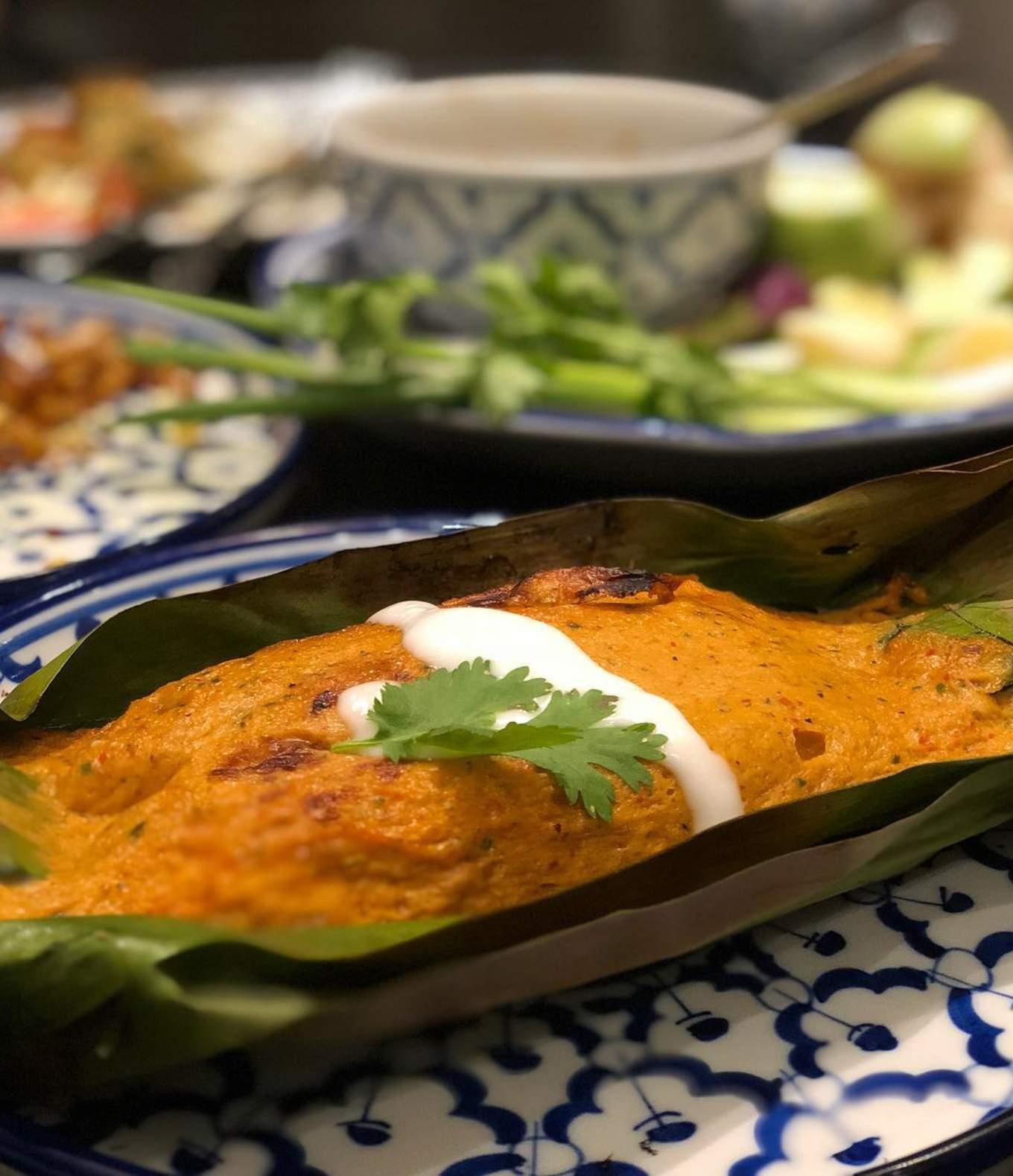 Spicy Thai Fishcake at Plu