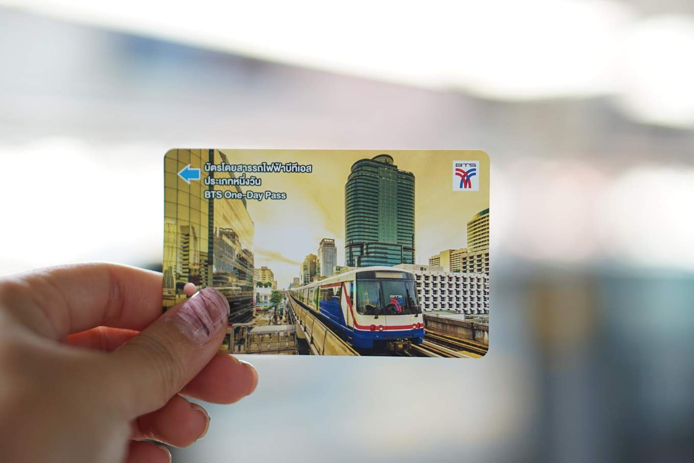 One Day BTS Skytrain Pass