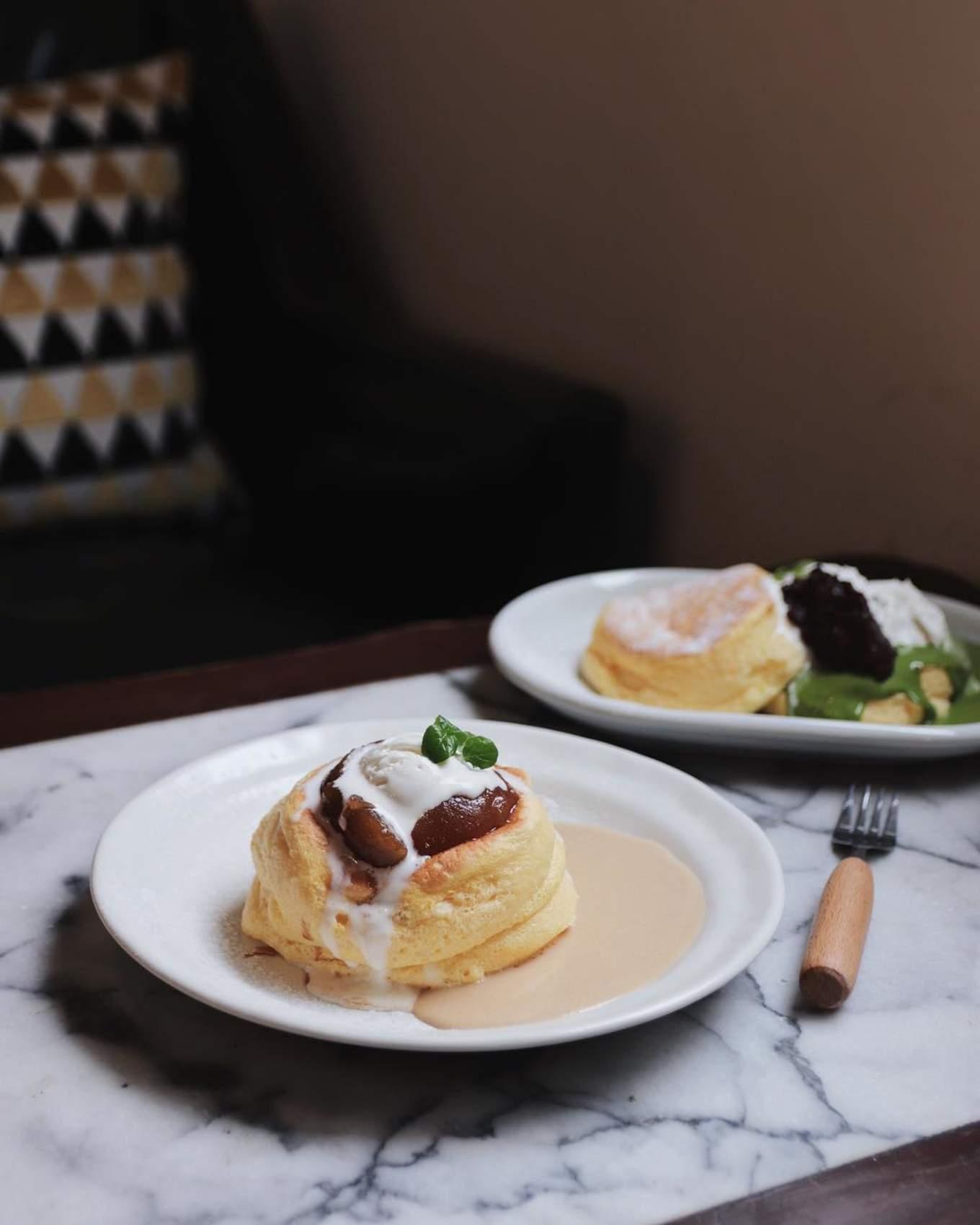 Kichi Pancake stacks