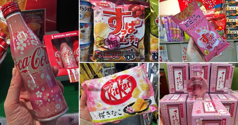 sakura snacks japan