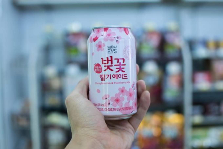 cherry blossom soda