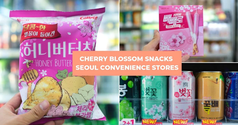 cherry blossom snacks seoul 9