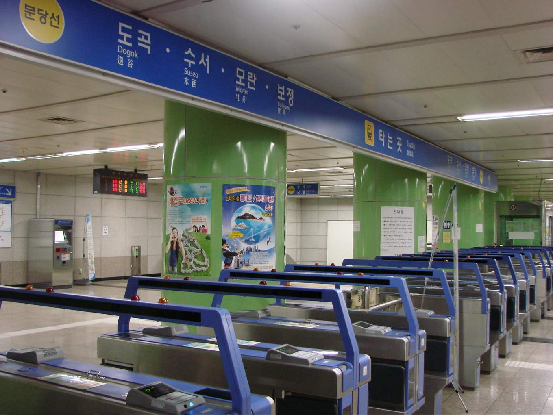 seoul subway guide