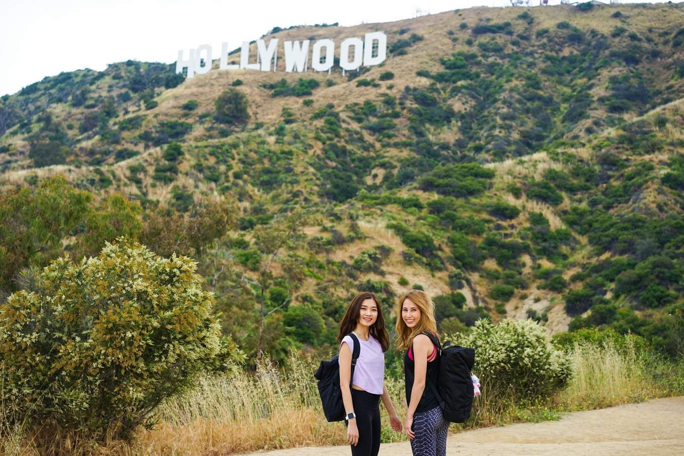 Picture with the Hollywood Sign