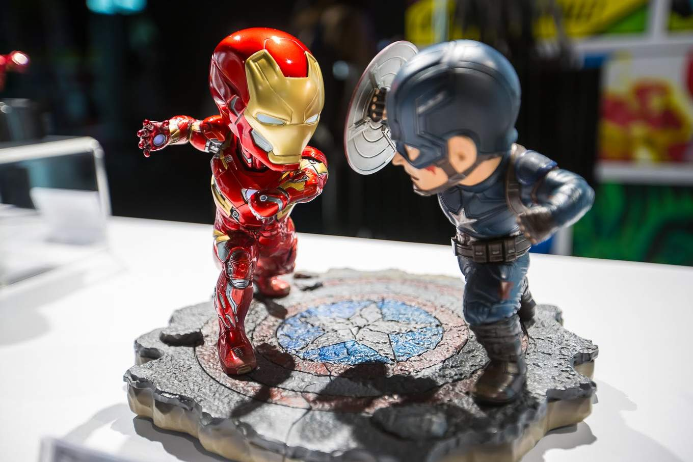 marvel exhibition merchandise