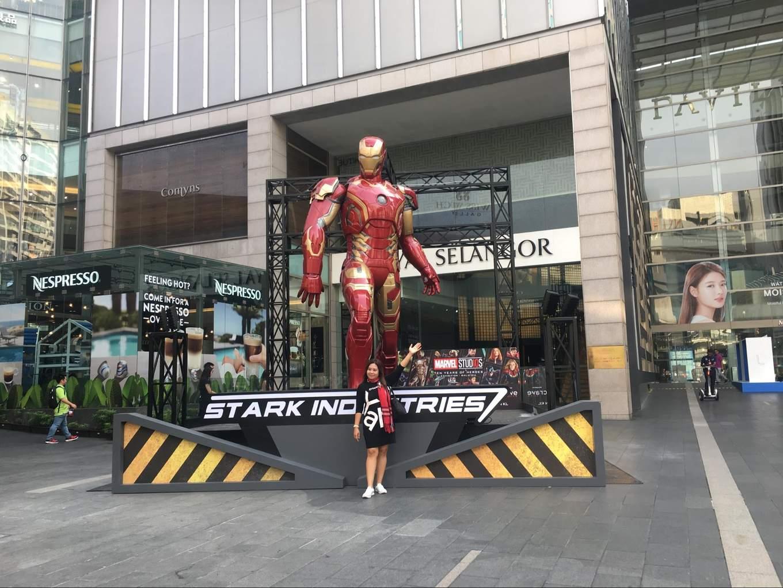 iron man pavilion kl