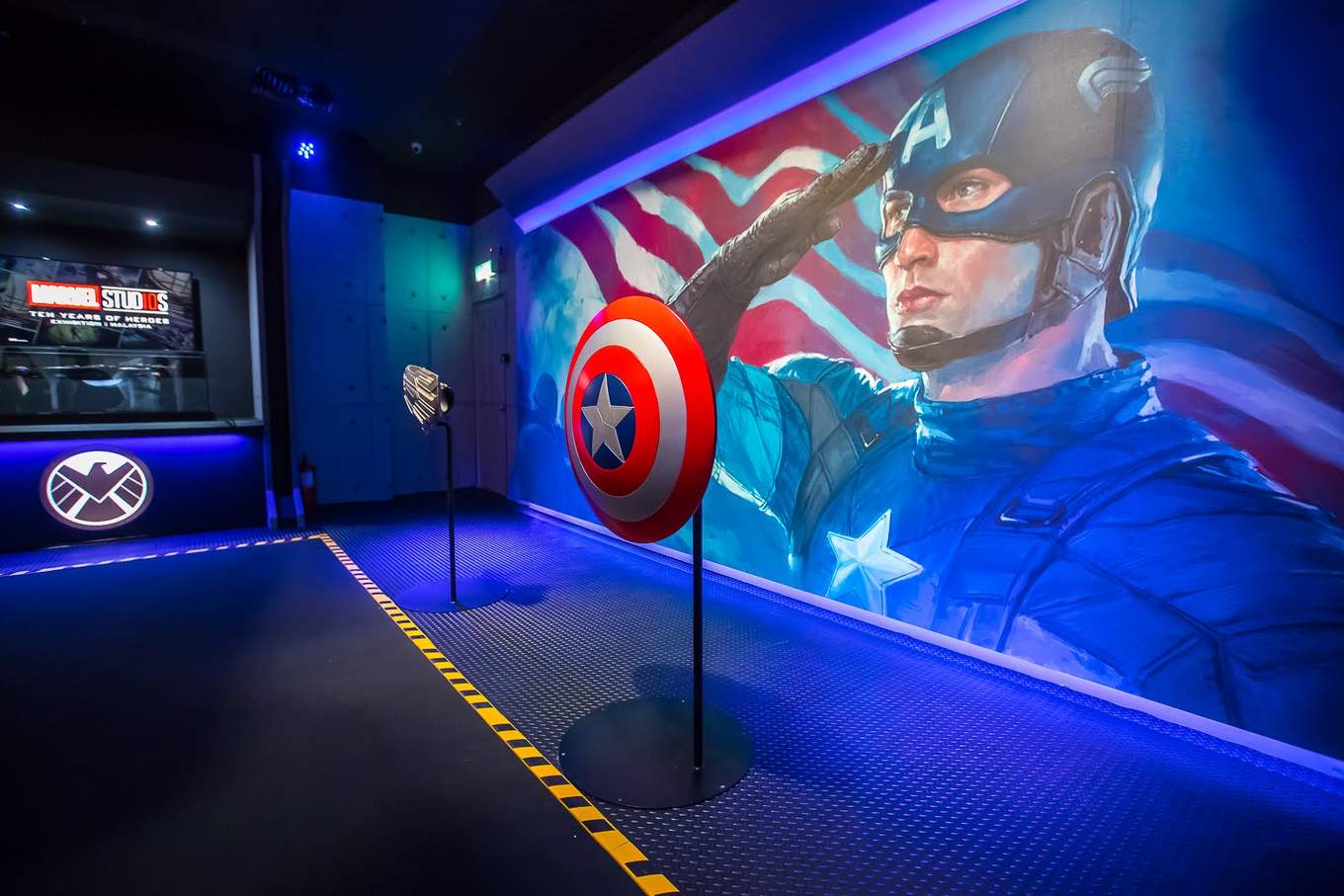 marvel exhibition captain america