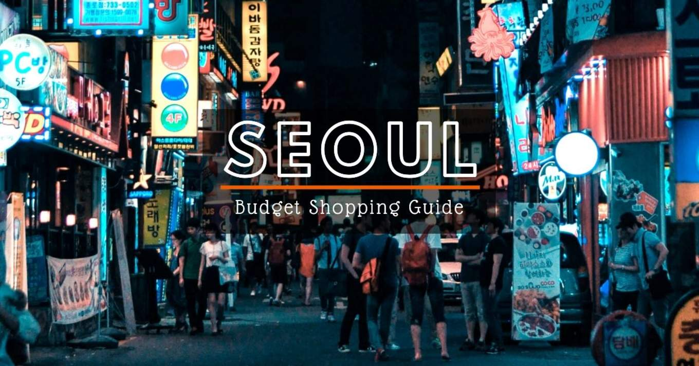 seoul shopping budget cover 1