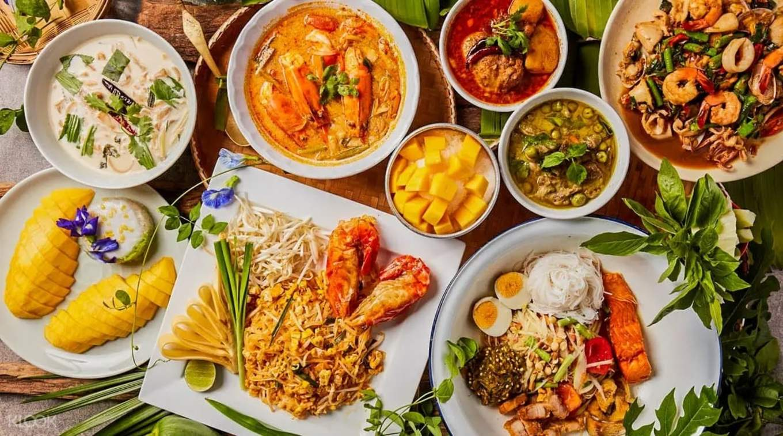 Local Thai food at Baan Ying