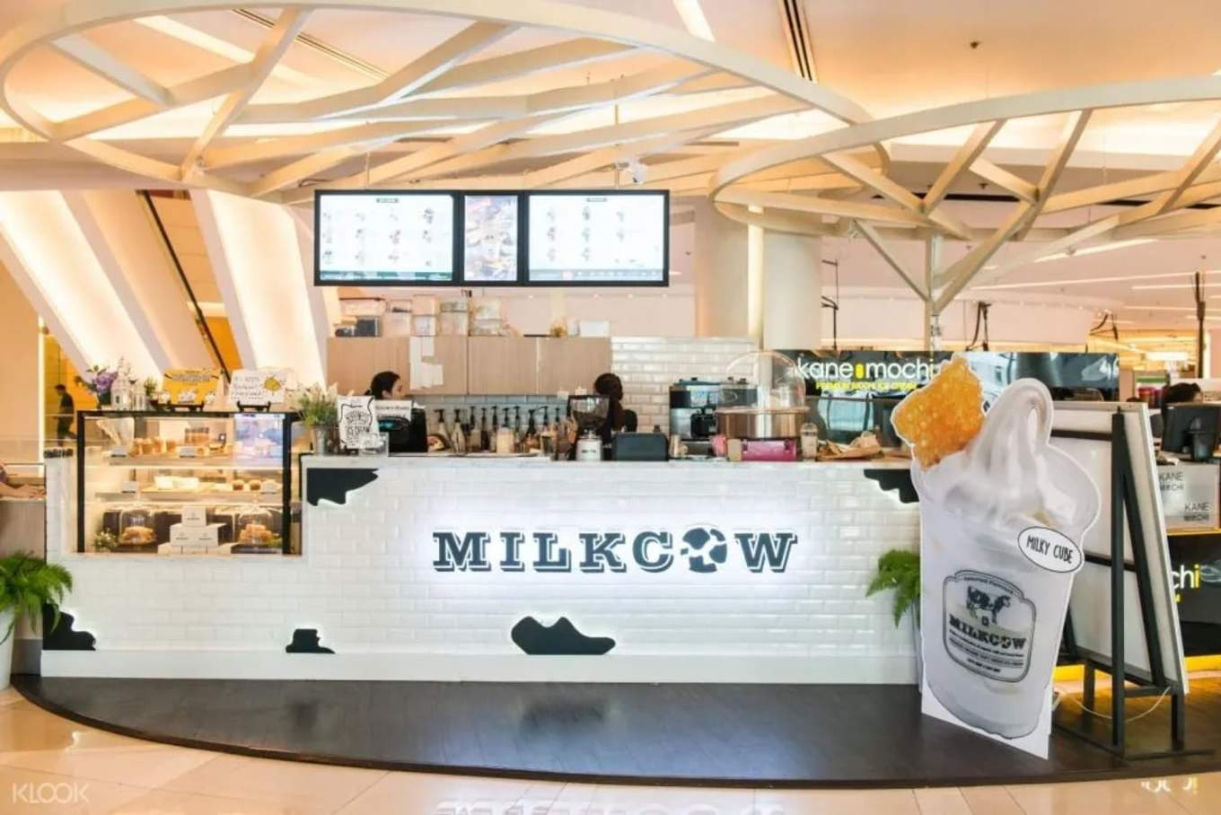 Milkcow store front Siam Paragon Central World