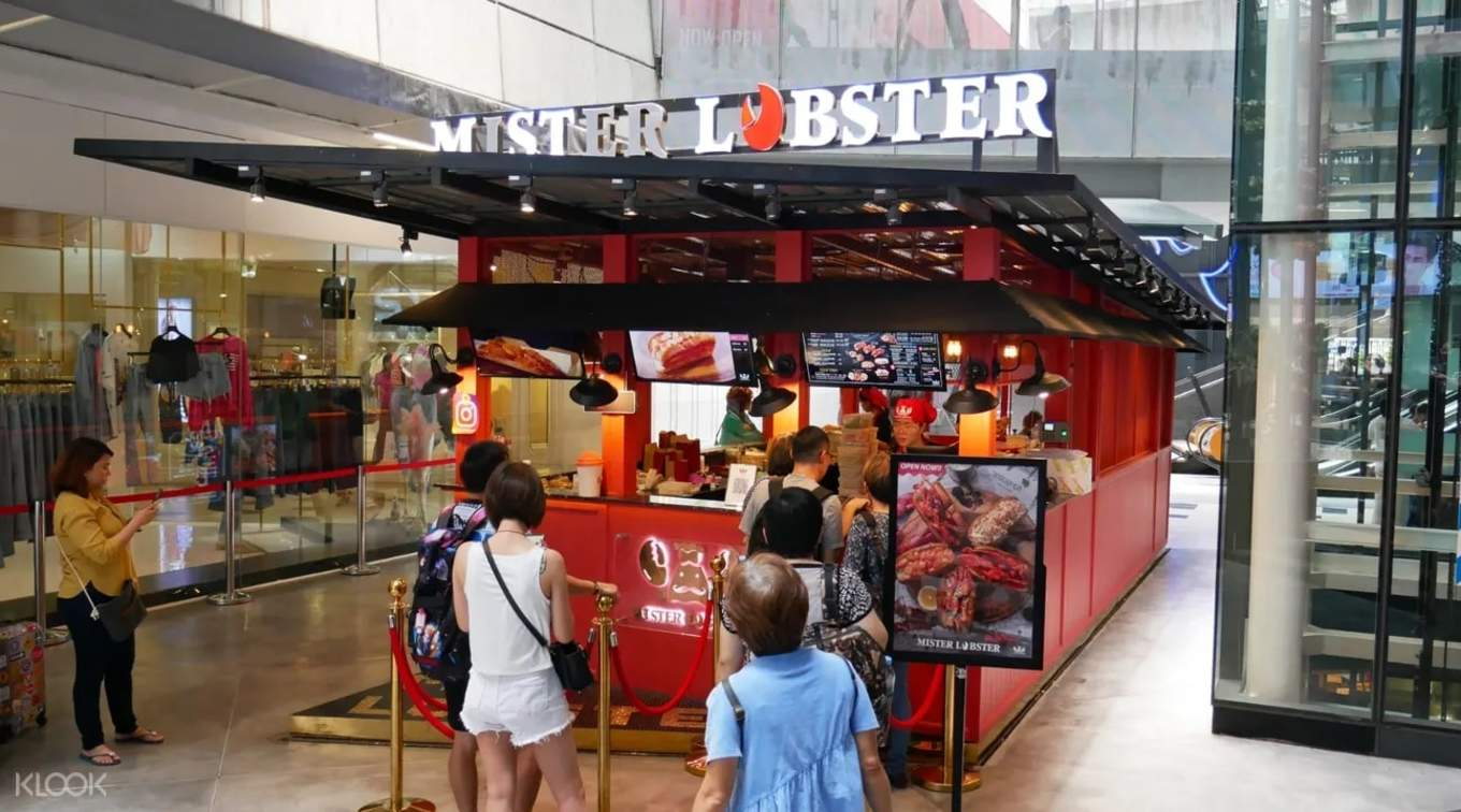 Mister Lobster booth Siam Square