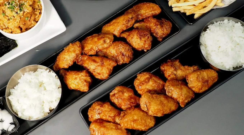 Fried chicken at Bonchon