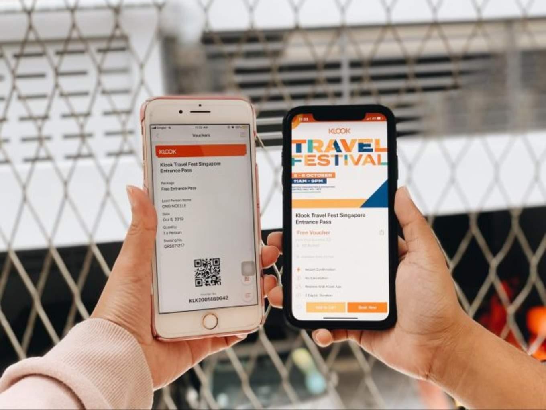 klook travel festival singapore tickets