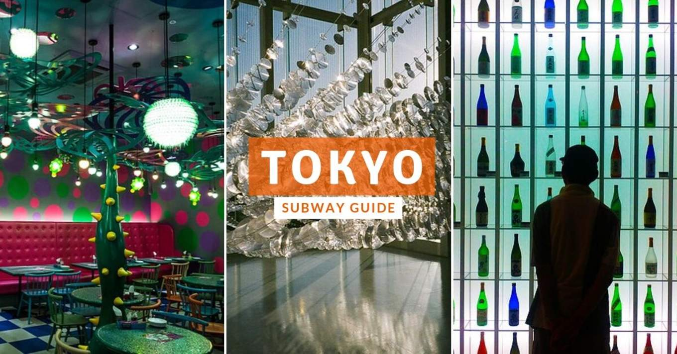 tokyo subway guide cover image