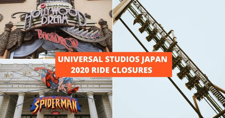 universal studios japan ride closures 1
